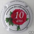 Champagne capsule  10 ans, Association des collectionneurs