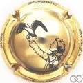 Champagne capsule 11.f Doré à l'or fin