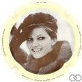 Champagne capsule 1.g Claudia Cardinale