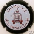 Champagne capsule 4 Contour noir, fond bleuté