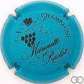 Champagne capsule 41.g Bleu-turquoise et noir