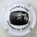 Champagne capsule 22 Blanc et noir