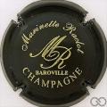 Champagne capsule 7 Noir et or brillant