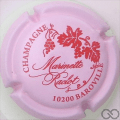 Champagne capsule 50 Rose et rouge