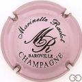 Champagne capsule 13 Rosé-violacé et noir