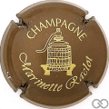 Champagne capsule 39.a Marron et or