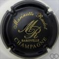 Champagne capsule 6 Noir et or mat