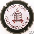 Champagne capsule 3 Contour noir, fond blanc