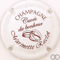 Champagne capsule 26 Blanc et bordeaux