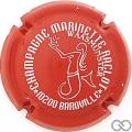 Champagne capsule 29.d Rouge et blanc