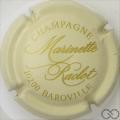 Champagne capsule 15 Crème et or