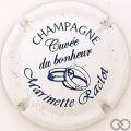 Champagne capsule 27 Blanc et bleu