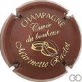 Champagne capsule 25 Bordeaux et or
