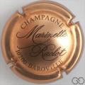 Champagne capsule 17 Cuivre foncé et noir