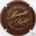Champagne capsule 21 Bordeaux et or