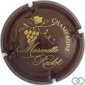 Champagne capsule 41.a Marron et or