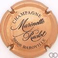 Champagne capsule 16 Cuivre et noir