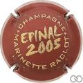 Champagne capsule 30 Bordeaux et or