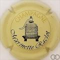 Champagne capsule 2 Jaune-crème et noir