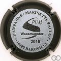 Champagne capsule 48.e Gris, contour noir