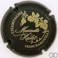 Champagne capsule 50.a Noir mat et or