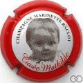 Champagne capsule 45 Mathilde, 2011, contour rouge