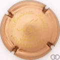Champagne capsule 8 Cuivre et or