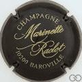 Champagne capsule 14 Noir et or