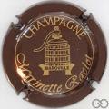 Champagne capsule 4.b Marron métallisé et or