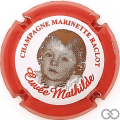 Champagne capsule 45.a Mathilde, 2012, contour rouge