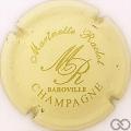 Champagne capsule 9 Crème et or