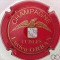 Champagne capsule 8 Rouge et or