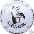 Champagne capsule 19.a Jéroboam, cuvée C.P.A.O.R