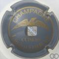 Champagne capsule 7 Gris et or