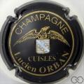 Champagne capsule 2 Noir et or