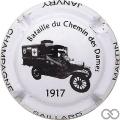 Champagne capsule 14.a Blanc et noir