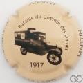 Champagne capsule 14 Crème et noir