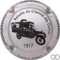 Champagne capsule 14.b Argent et noir