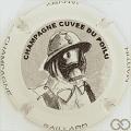 Champagne capsule 8 Blanc et noir