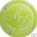 Champagne capsule 4.b Vert-jaune et blanc
