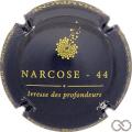 Champagne capsule A3 Bleu-nuit et or