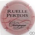 Champagne capsule 2.c Rose, rose foncé et noir