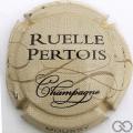 Champagne capsule  Crème, or et noir