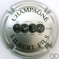Champagne capsule 15 Argent et noir