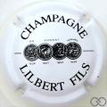 Champagne capsule 13 Blanc et noir