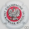 Champagne capsule 1 Blanc, rouge et noir