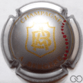 Champagne capsule 14.a Argent et or