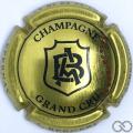Champagne capsule 13.e Or et noir
