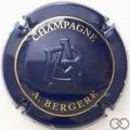 Champagne capsule 17.c Estampée, bleu foncé