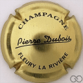 Champagne capsule 8 Or et noir, verso or